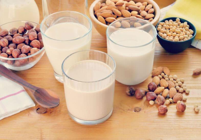 Os benefícios dos leites vegetais