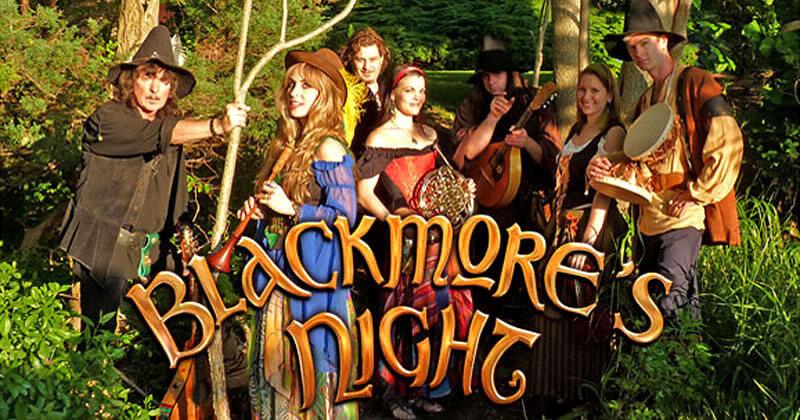 Blackmore's Knight: poesia de bardos em um mundo contemporâneo
